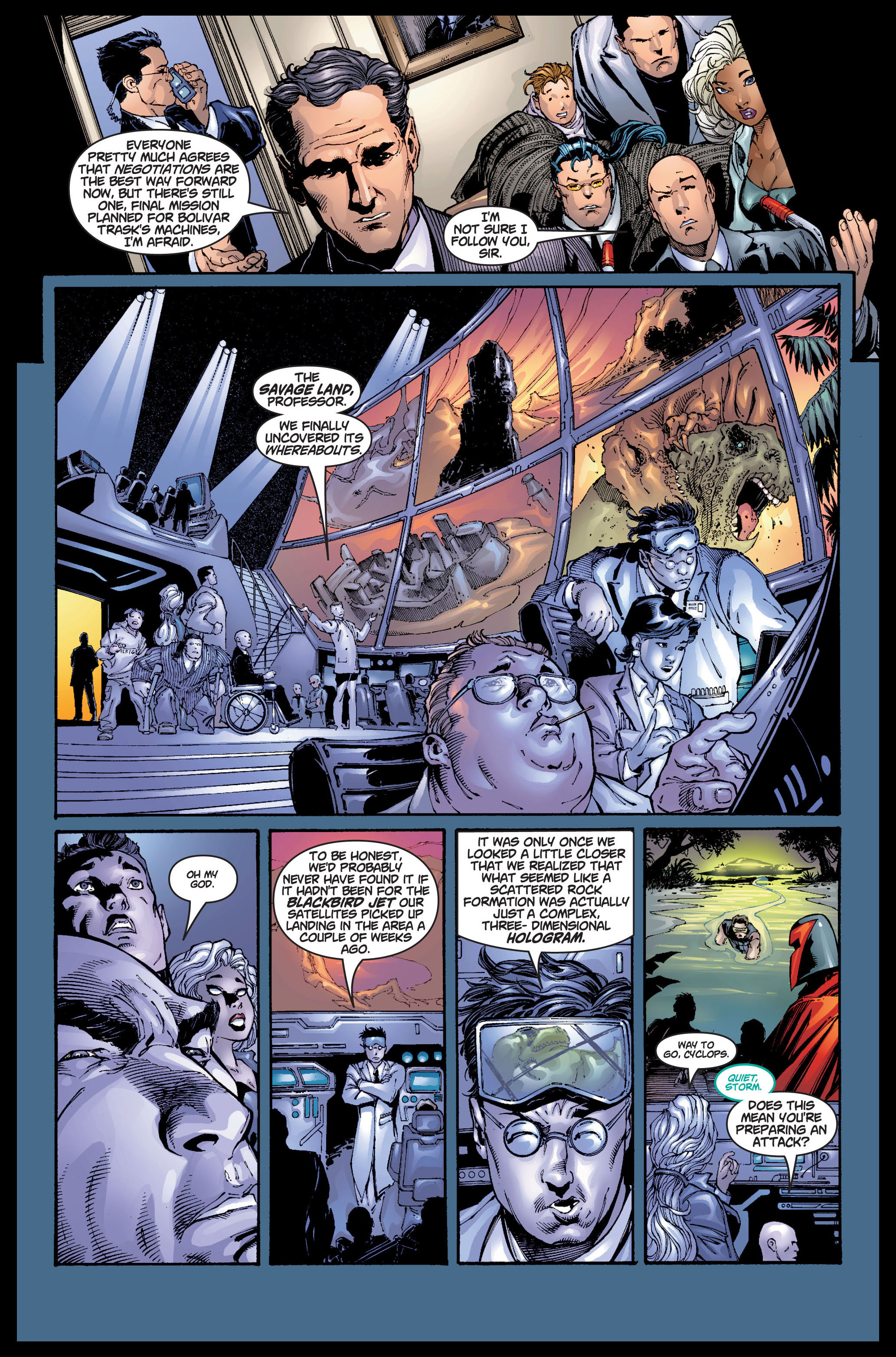 Read online Ultimate X-Men comic -  Issue #5 - 8