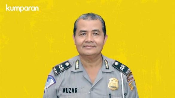 Ipda Auzar yang Ditabrak Teroris Punya Pesantren dan Yayasan Yatim