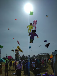 International Kite Festival 2018 Pangandaran-gbr1