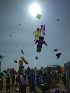 International Kite Festival 2018 Pangandaran-gbr1