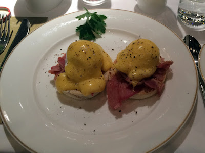 Complimentary Breakfast at the Shelbourne Hotel, Dublin, Ireland