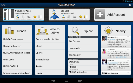 Free download tweetcaster pro twitter app for android | nokia mobil.