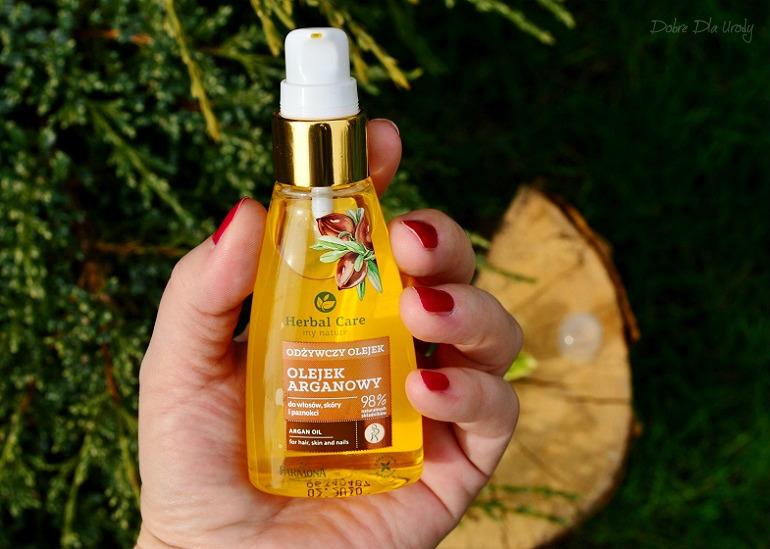 Laboratorium Farmona - Odżywczy Olejek Arganowy do włosów, skóry i paznokci Herbal Care