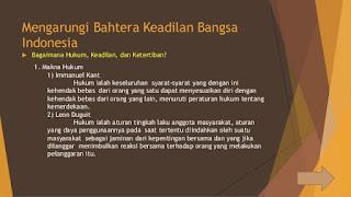 Jawaban Uji Kompetensi Bab 5 PPKn Kelas X Halaman 32 (Keadilan Bangsa Indonesia)