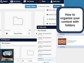How to organize your content with folders