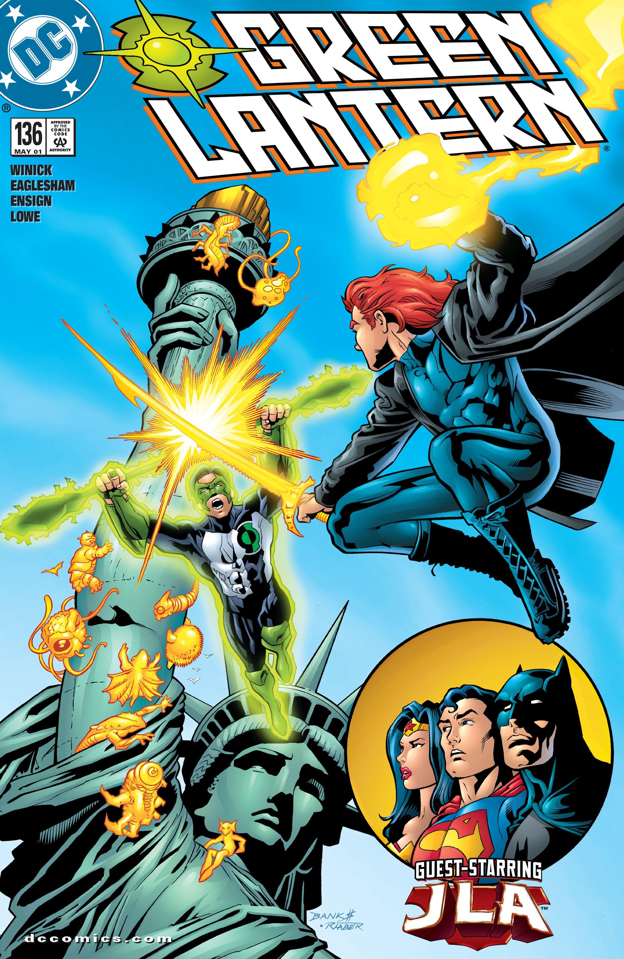 Green Lantern (1990) 136 Page 1
