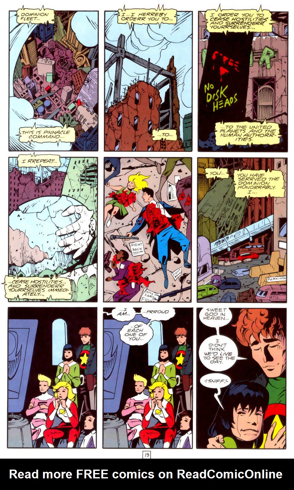 Legion of Super-Heroes (1989) 35 Page 19