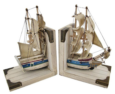 Nautical Sailboat Bookend