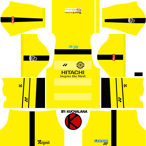 Kashiwa Reysol kits 2017 - Dream League Soccer