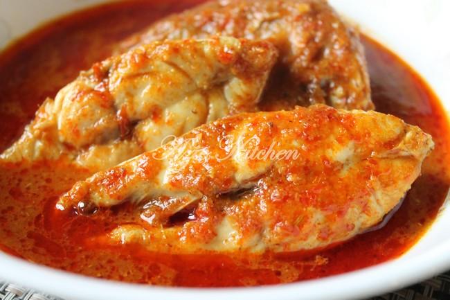 Asam Pedas Melaka Yang Sedap - Azie Kitchen