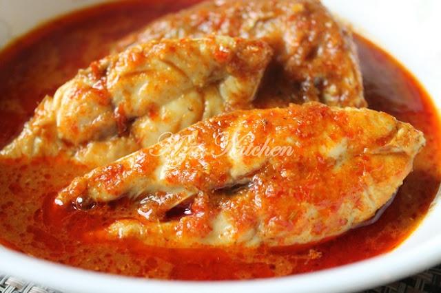 Asam Pedas Ikan Merah Melaka Yang Sedap
