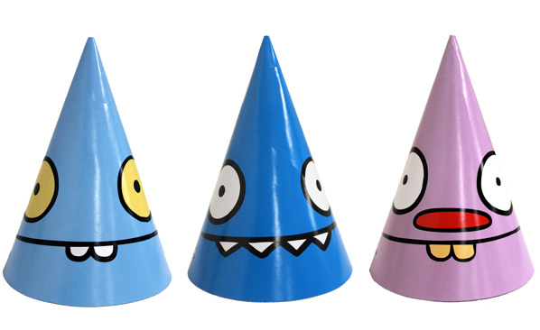 Ugly Dolls Party Hats