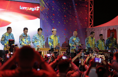Gubernur M. Ridho Ficardo Buka Lampung Fair 2017