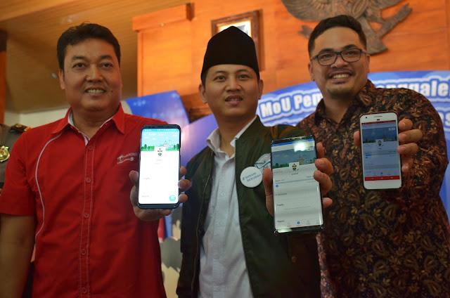 Wujudkan Pelayanan Lebih Baik, Pemkab Trenggalek Launching Aplikasi PSC Qlue