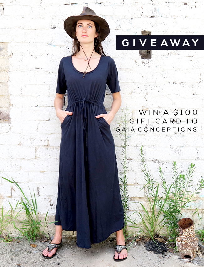 GIVEAWAY! Win A $100 Gift Card to Gaia Conceptions from Bubby and Bean!