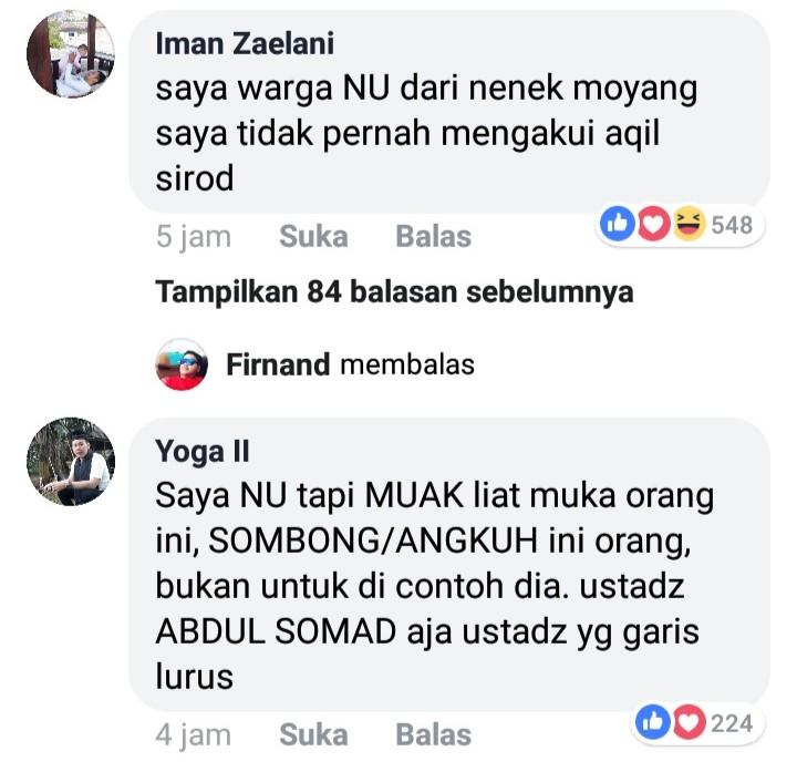 Pernyataan Kontroversi Said Aqil Siradj, Ini Tanggapan Cerdas Netizen NU