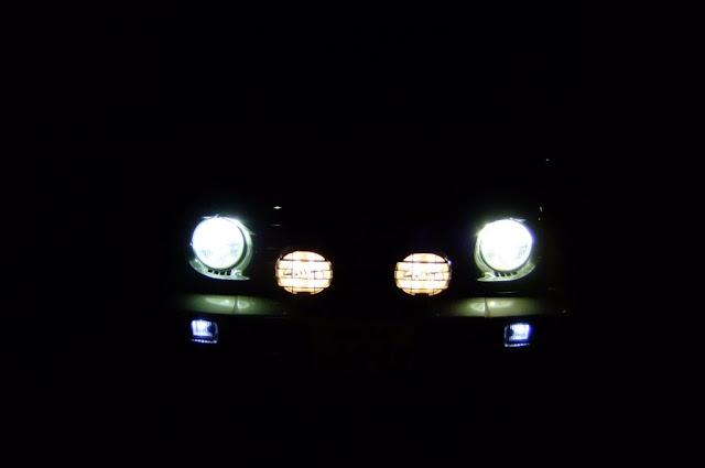 pajerojr-hid-led パジェロジュニアHID&LED装着