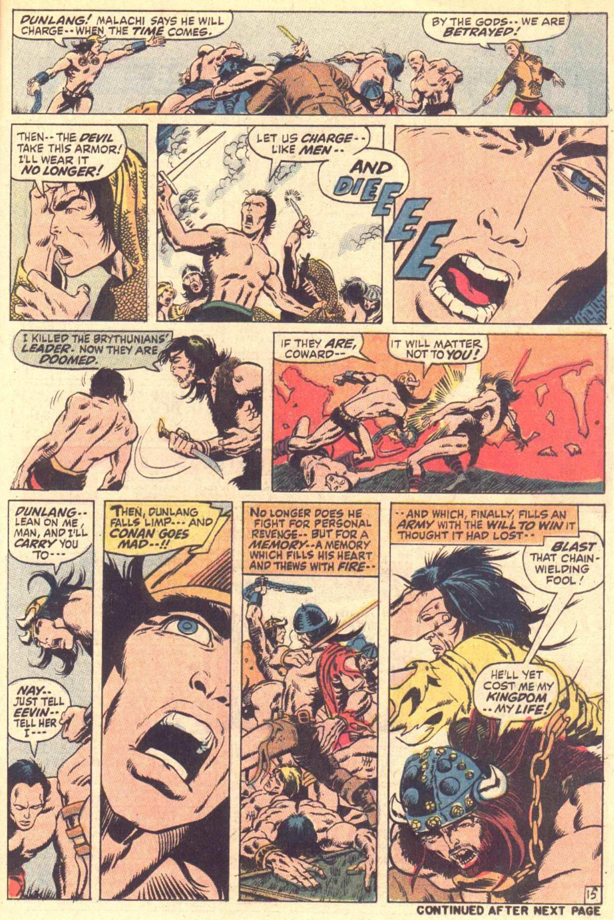 Conan the Barbarian (1970) Issue #3 #15 - English 16