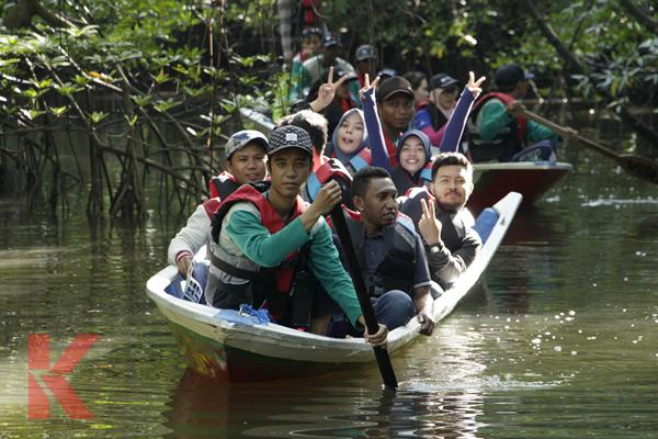 Wisata Sungai Belanda Bontang Kuala