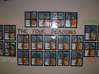 mrs t 39 s first grade class the four seasons. Black Bedroom Furniture Sets. Home Design Ideas