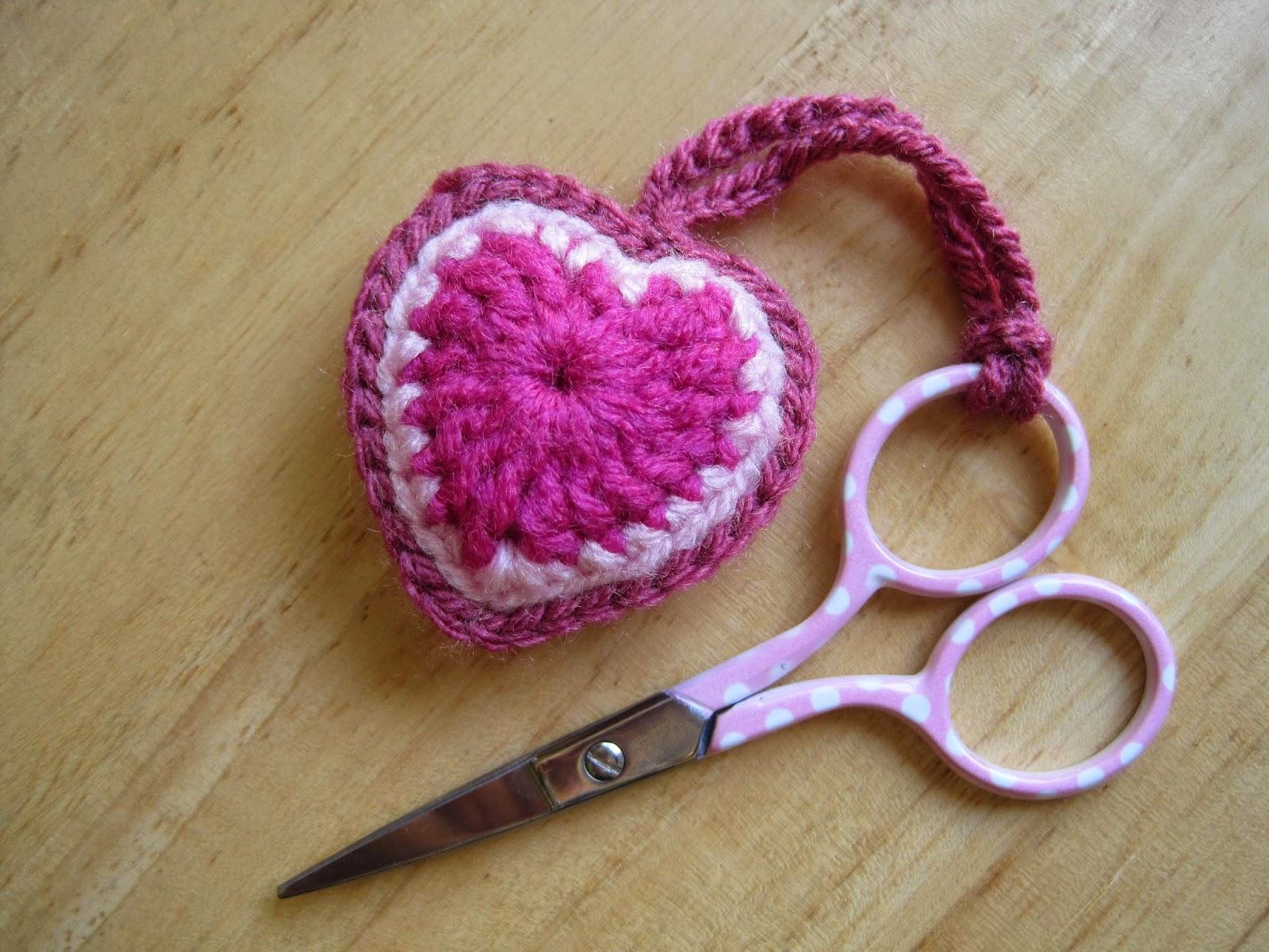 Boho heart scissor keeper