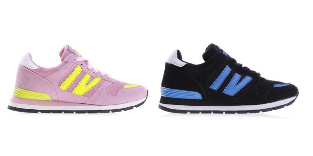 Adidasi dama ieftini si frumosi la moda roz, negri online vara-toamna