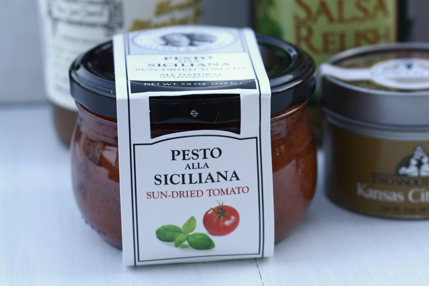 Cucina & Amore Pesto Alla Siciliana That Winsome Girl Taste Trunk August 2013 Gourmet Trunk