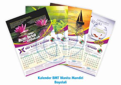 Cetak Kalender 2018 Klaten, Boyolali, Solo, Jogja, Semarang, Surabaya, Jakarta, Balikpapan, Palangkaraya, Makasar, Gorontalo, Papua, Batam, Medan