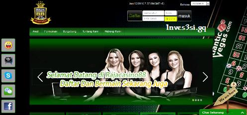 Beranda Situs Web RAJACASINO88 - Inves3si