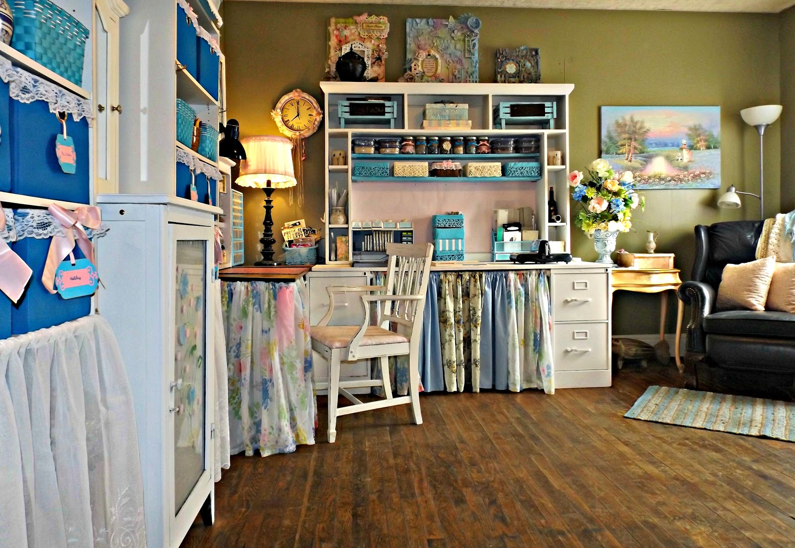 Craft Room Makeovers: Heartedly Handcrafted: Lessons Learned: Ideas And Tips For