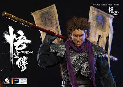 Wu Kong in scala 1 a 6 della Threezero