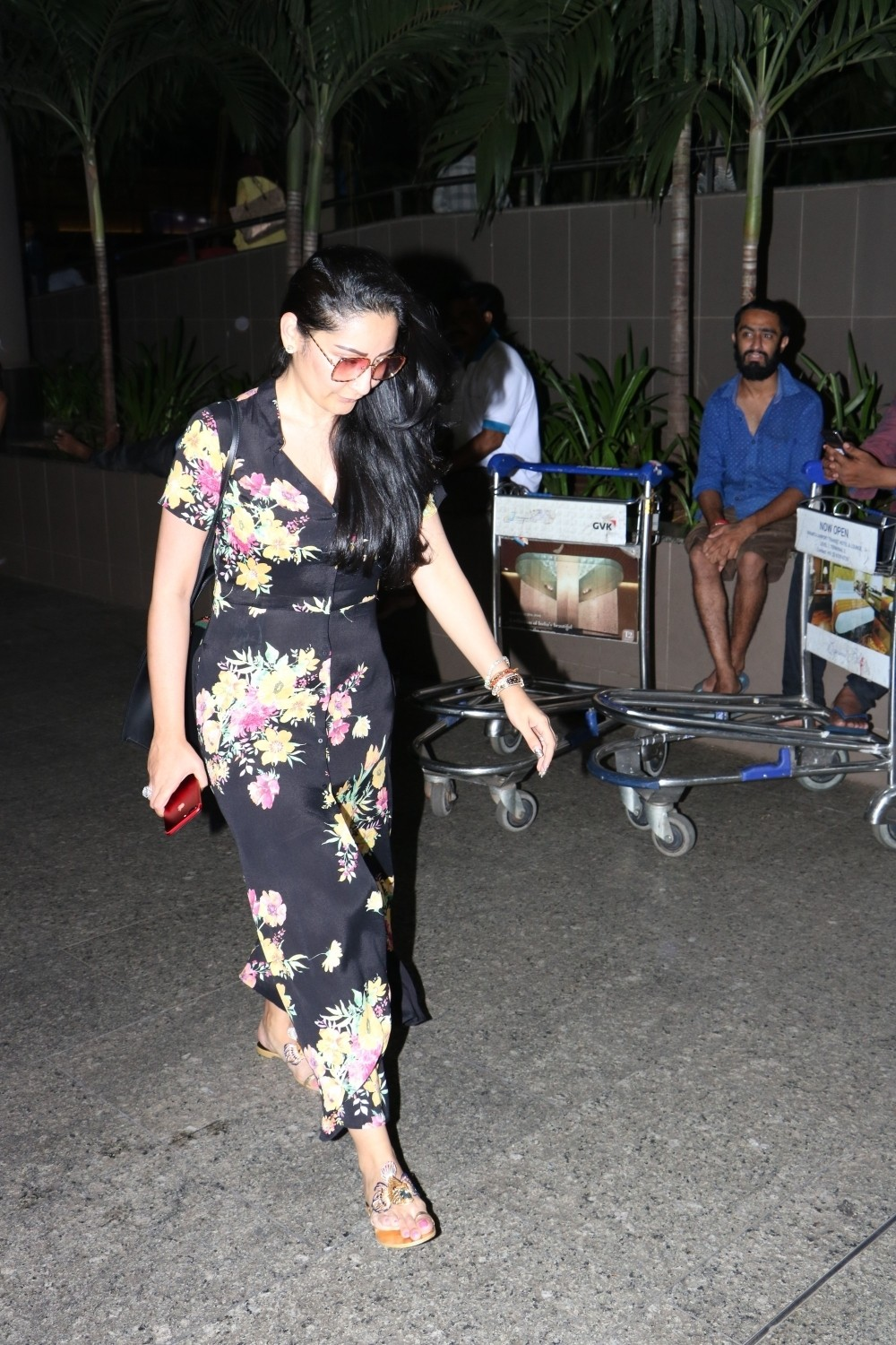 Manyata Dutt Spotted at Airport