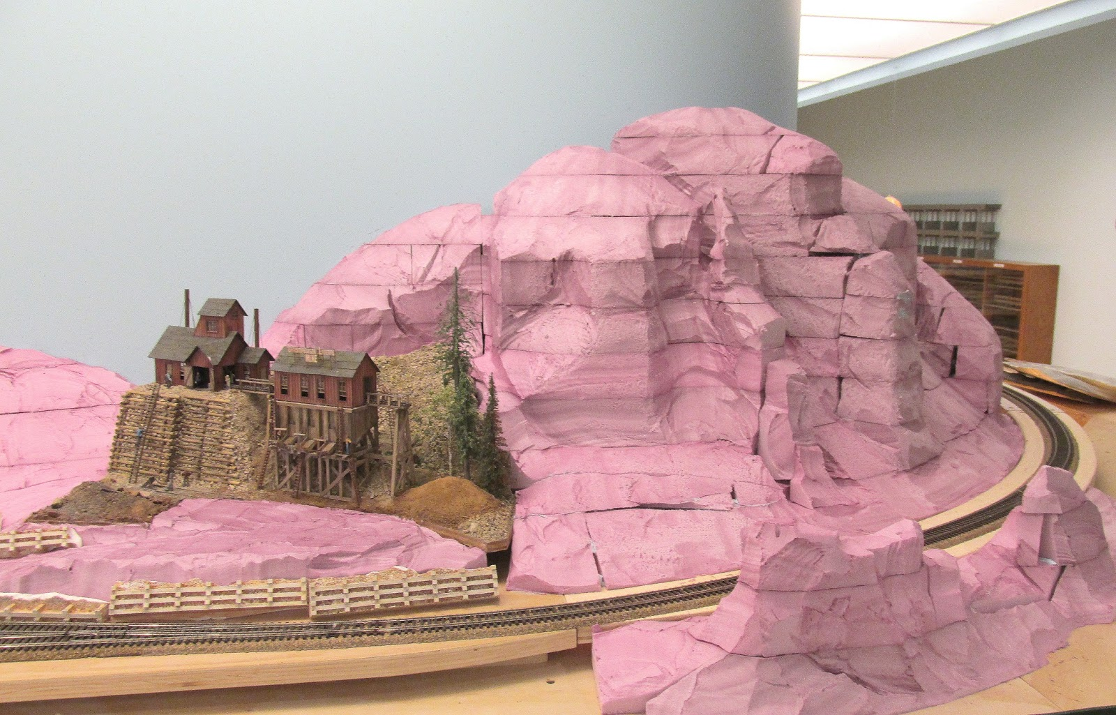 The Art of Todd Gamble: Massive HO-scale Mountain Ready