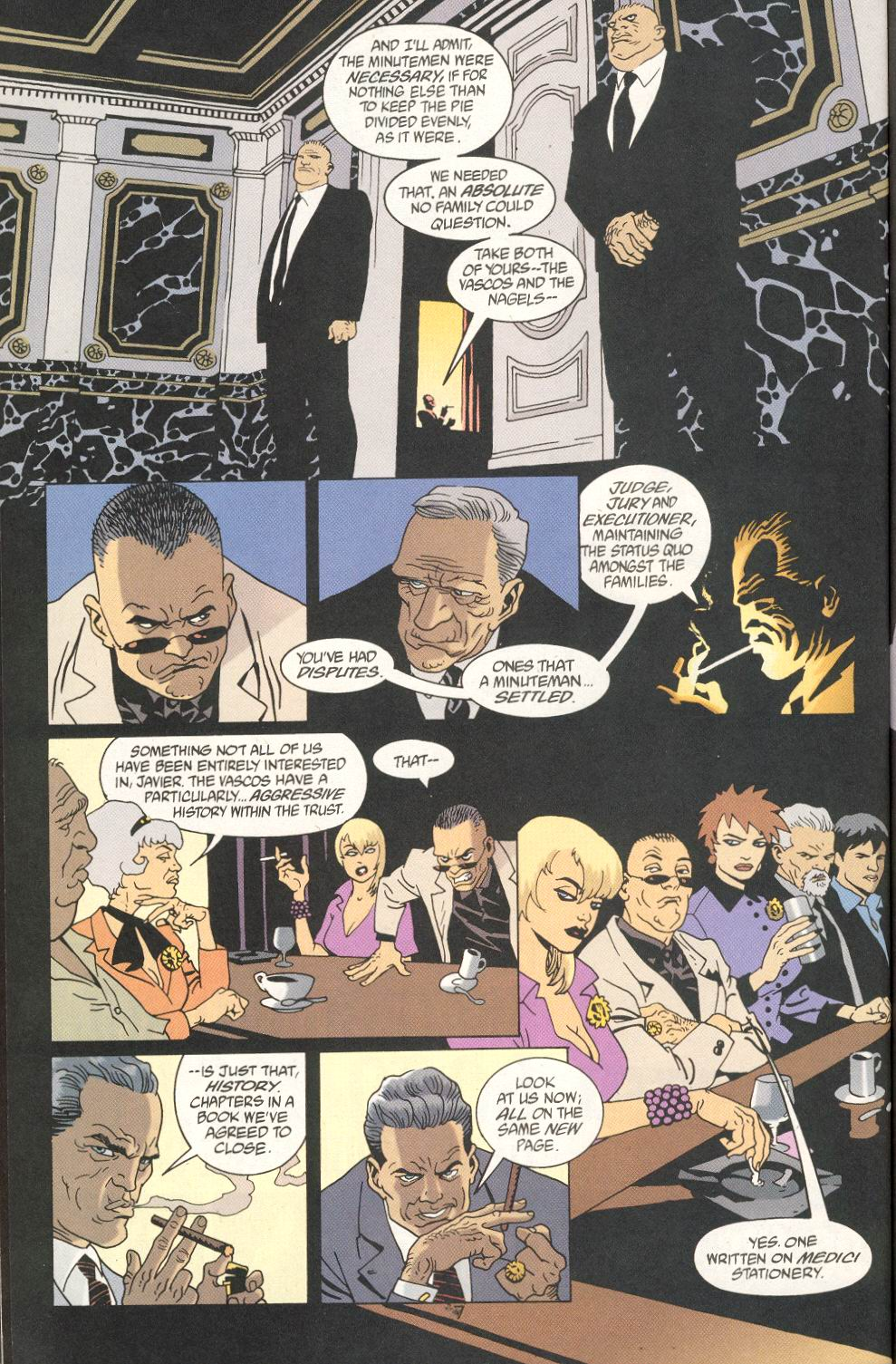 Read online 100 Bullets comic -  Issue #25 - 9