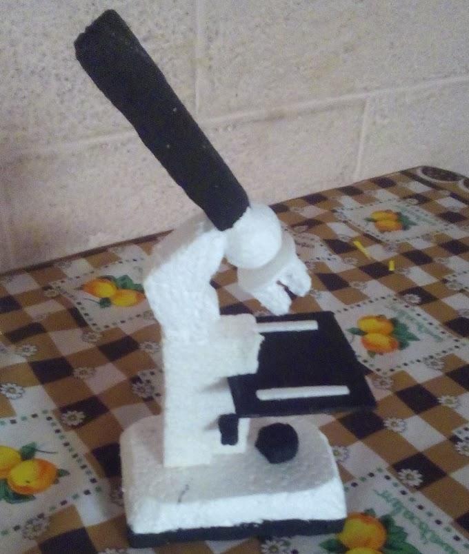 Como Hacer Una Maqueta de Un Microscopio [SENCILLO]