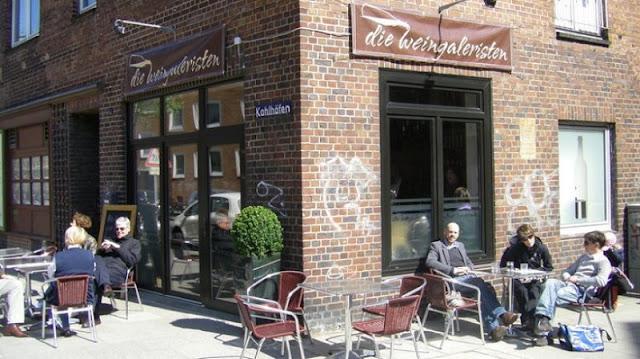 Bar Die Weingaleristen em Hamburgo