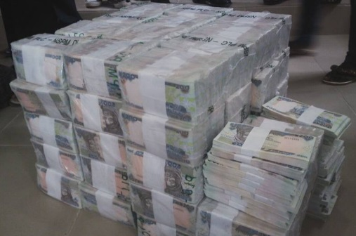 UPDATE: See Photos of N49m Intercepted By EFCC In Kaduna Airport