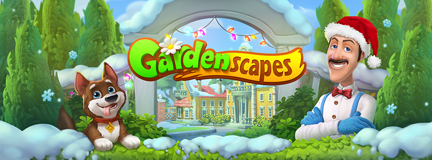 Gardenscapes 2.5.2 Mod Unlimited Money