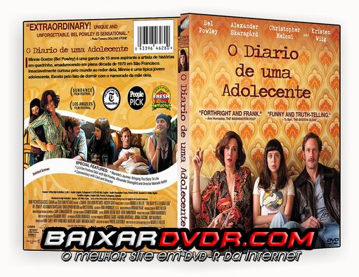 O DIÁRIO DE UMA ADOLECENTE (2015) DUAL AUDIO DVD-R CUSTOM