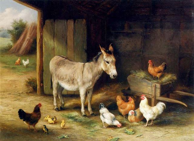 Subhanallah Seperti Inilah Reaksi, Ayam, Anjing dan Keledai Saat Melihat Jin dan Malaikat