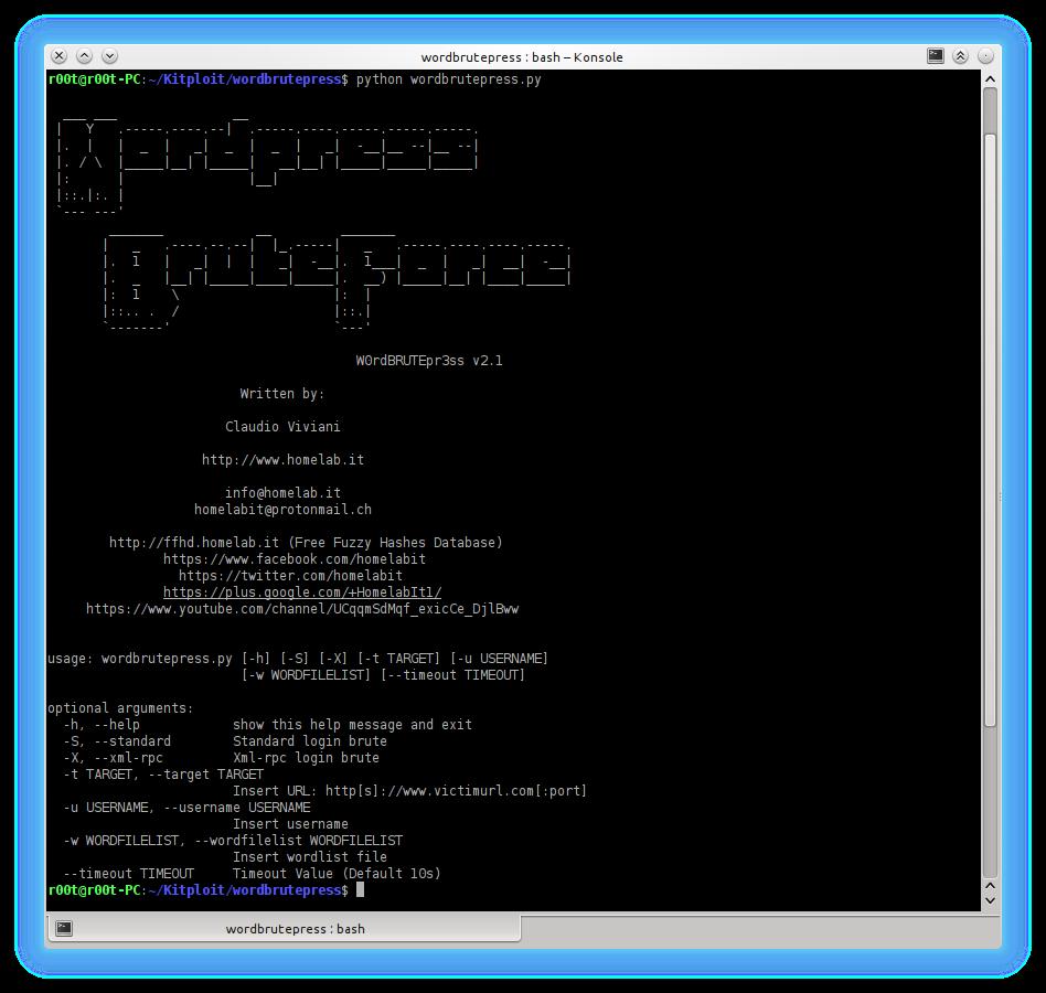 Wordbrutepress - Wordpress Brute Force Multithreading with