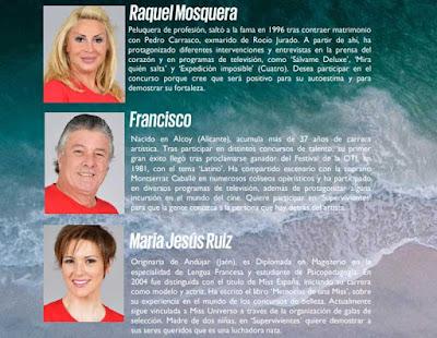 Raquel Mosquera, Francisco y Maria Jesus Ruiz