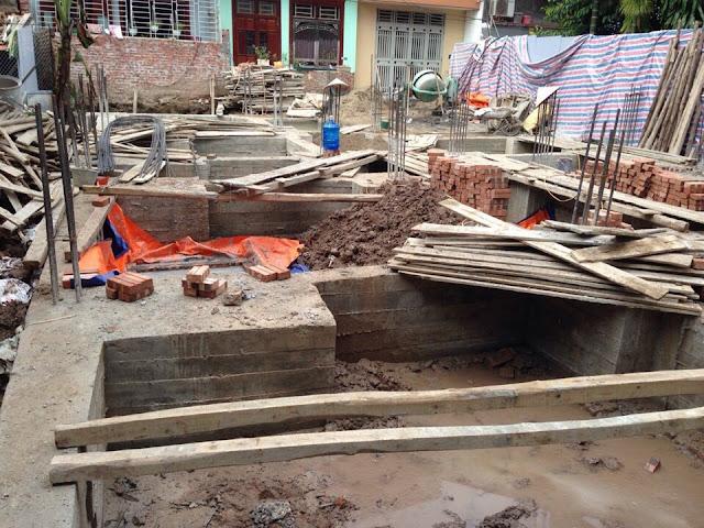 Tiến độ xây dựng chung cư mini Minh Đại Lộc 4