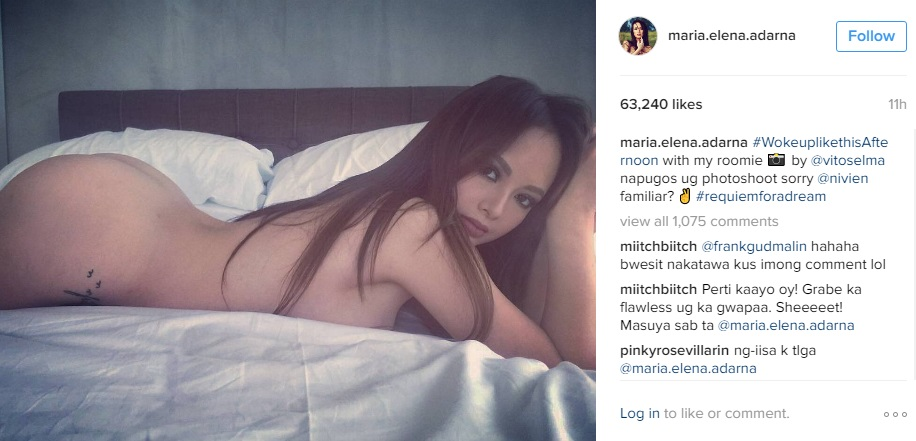 Look Ellen Adarna Did Everyone Go Crazy Over Her Naked Photo Check This Out