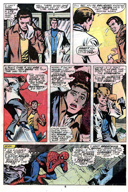 Amazing Spider-Man v1 #189 marvel comic book page art by John Byrne