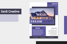Open House Real Estate Flyer Template Free Download on Word File