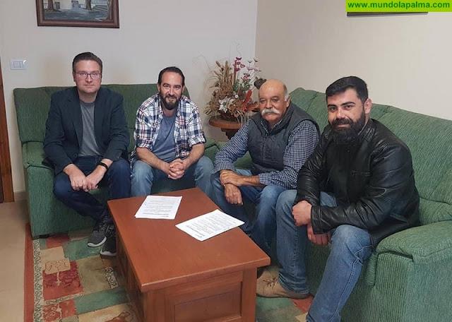 El Ayuntamiento de Tijarafe y la Sat Bodegas Noroeste de La Palma firman un Convenio de colaboración para promoción del municipio