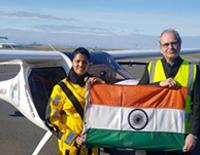 Mumbai Girl Is World's First To Cross Atlantic Ocean In Light Sports Aircraft