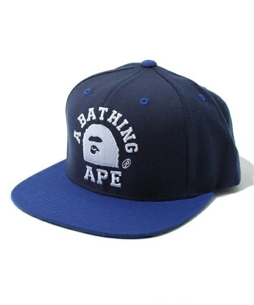 1779c8eb01f A BATHING APE BAPE X STARTER SNAPBACK Cap Camo Brand NEW Navy Snap Back