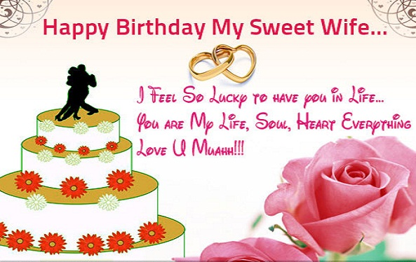 Best Images For Happy Birthday Wishes To Wife From Husband Wishing A Happy Birthday To My Husband
